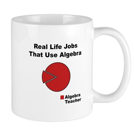 Algebra Teacher Black.png Mug