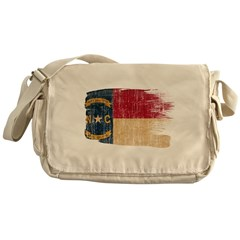 North Carolina Flag Messenger Bag