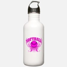 Softball mom Water Bottle