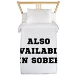 Also In Sober Black.png Twin Duvet