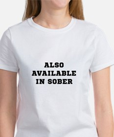 Also In Sober Black.png Women's T-Shirt