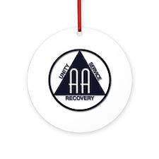 A.A. Logo Classics - Ornament (Round)