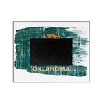 Oklahoma Flag Picture Frame