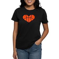 Basketball heart Tee