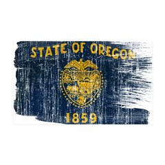 Oregon Flag 38.5 x 24.5 Wall Peel