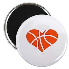 Basketball heart Magnet