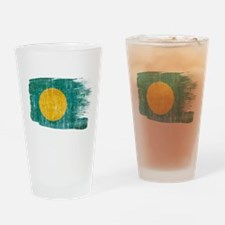 Palau Flag Drinking Glass