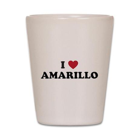 AMARILLO.png Shot Glass