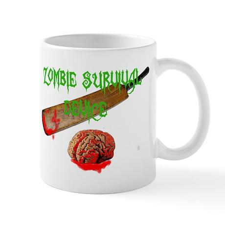 zombie survival device Mug