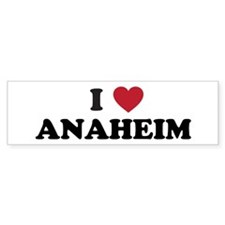 Anaheim Bumper Sticker