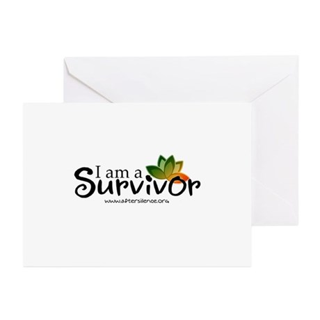 - I'm a survivor - Greeting Cards (Pk of 10)
