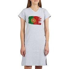 Portugal Flag Women's Nightshirt
