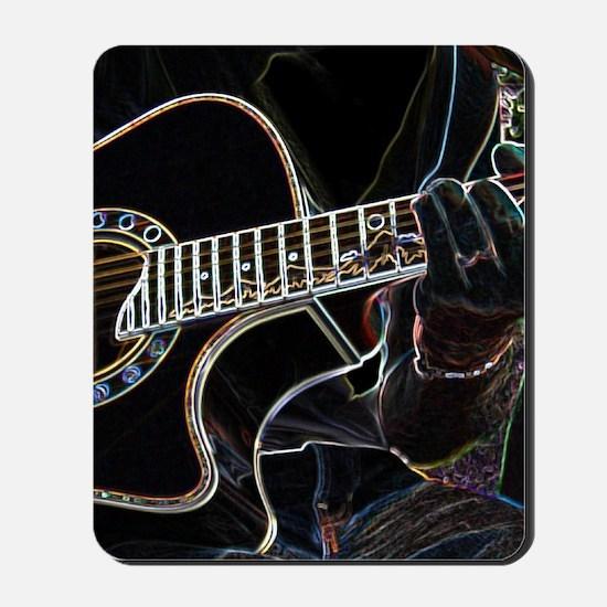 Guitar Player Mousepad