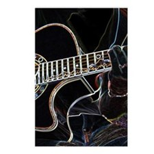 Guitar Player Postcards (Package of 8)