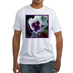 Pansies, Friends Always Fitted T-Shirt