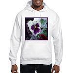 Pansies, Friends Always Hooded Sweatshirt