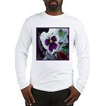 Pansies, Friends Always Long Sleeve T-Shirt