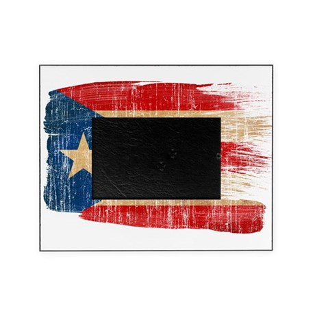 Puerto Rico Flag Picture Frame