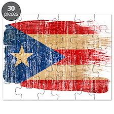 Puerto Rico Flag Puzzle
