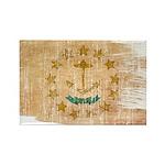 Rhode Island Flag Rectangle Magnet