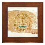 Rhode Island Flag Framed Tile