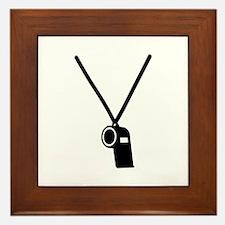 Whistle Framed Tile