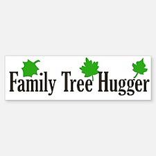 Family Tree Hugger Bumper Bumper Bumper Sticker