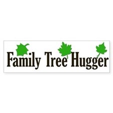 Family Tree Hugger Bumper Bumper Sticker