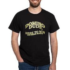 Domino Dude Black T-Shirt