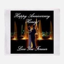 Anniversary Wedding: 0001 Throw Blanket