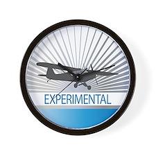 Aircraft Experimental Wall Clock