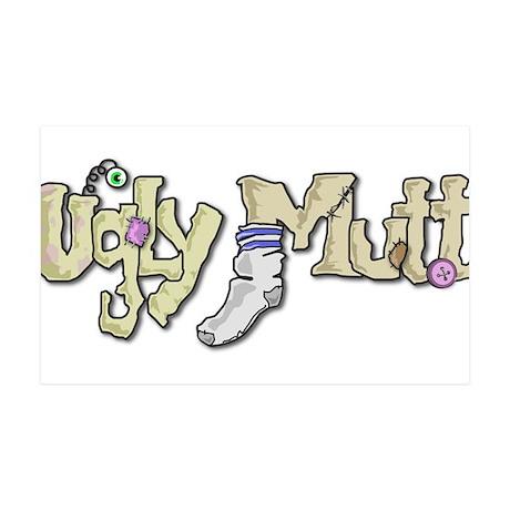 Ugly Mutt Logo 38.5 x 24.5 Wall Peel
