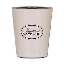 Cape Ann - Oval Design. Shot Glass