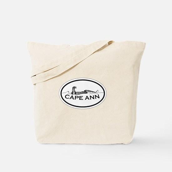 Cape Ann - Oval Design. Tote Bag