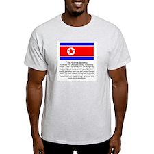 North Korea Gray T