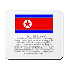 North Korea Mousepad