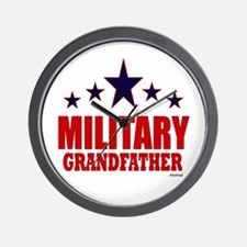 Military Grandfather Wall Clock