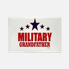 Military Grandfather Rectangle Magnet
