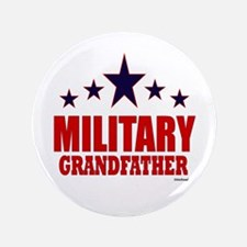 "Military Grandfather 3.5"" Button"