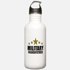 Military Grandfather Water Bottle