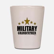 Military Grandfather Shot Glass