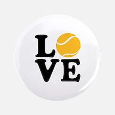 "Tennis love 3.5"" Button"