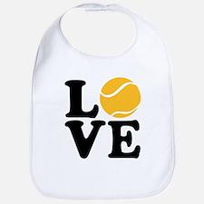Tennis love Bib