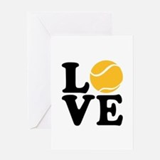 Tennis love Greeting Card
