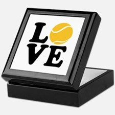 Tennis love Keepsake Box