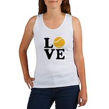 Tennis love Women's Tank Top