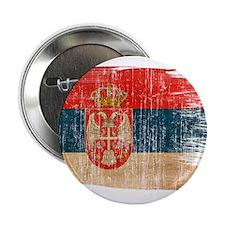 "Serbia Flag 2.25"" Button (100 pack)"