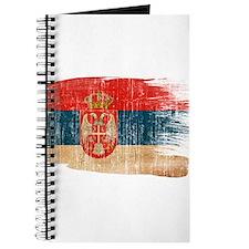 Serbia Flag Journal