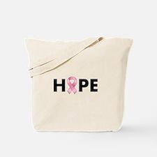 Breast Cancer Hope Tote Bag
