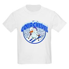 Courchevel Snowman T-Shirt